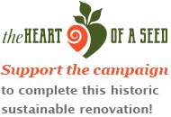 theHeart of a Seed Kickstarter campaign to support the new Healing Passages Birth Center in Des Moines and the sustainable renovation of the building it will occupy.
