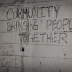 Wall writing displaying what makes a holistic women's health center